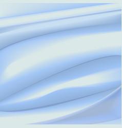 Satin light blue background vector image