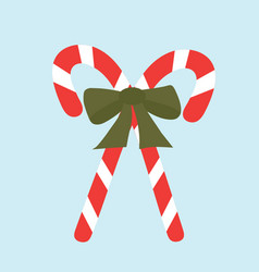 candy-canes vector image vector image
