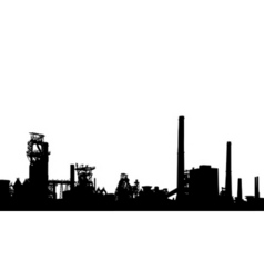 industrial foreground vector image vector image