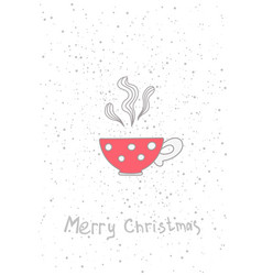 Christmas cup hand drawn elements for your vector