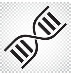 dna icon medecine molecule flat simple business vector image