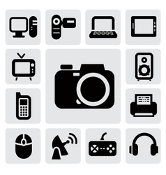 electronic devices vector image