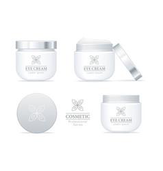 Eye cream professional series set vector