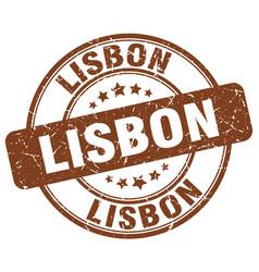 Lisbon stamp vector