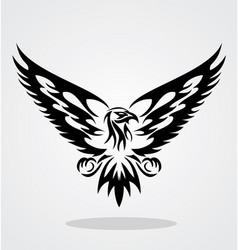 Eagle Tribal vector image vector image