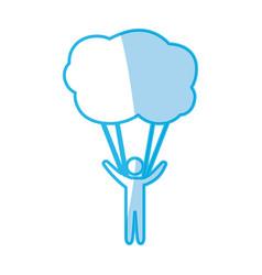 male pictogram symbol vector image vector image