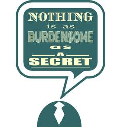 quote text bubble motivation phrase vector image