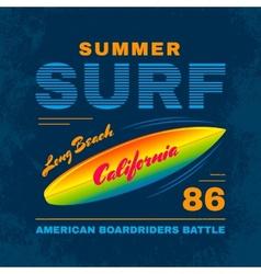 SurfIing vector image