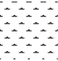 railway station building pattern vector image