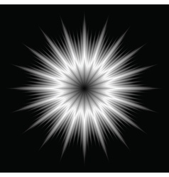 An abstract lens flare vector image