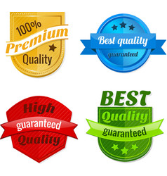 collection product offer badges vector image