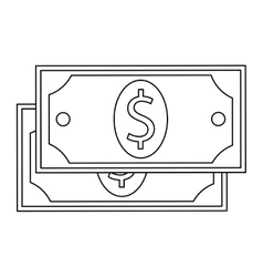 Dollar bill vector