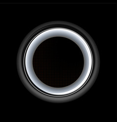 isolated of audio speaker vector image
