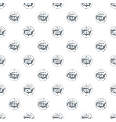 made in usa country pattern seamless vector image