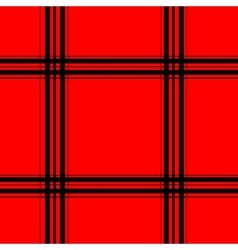 Red tartan seamless pattern vector