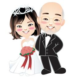 Wedding 002 vector