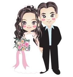 wedding-004 vector image