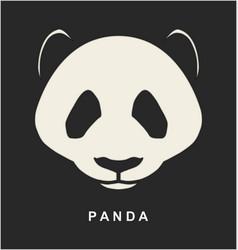 image of Chinese Panda Bear vector image vector image