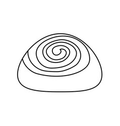 Cinnamon roll vector