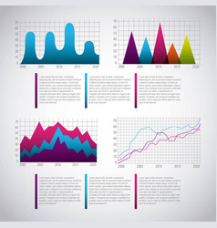 Infographics statistics diagram vector