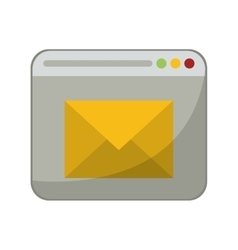 Page web email message communication vector