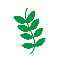 plant weed wild icon image vector image