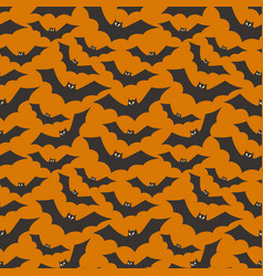 seamless halloween background easy to edit image vector image