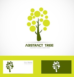 Tree nature natural logo vector image