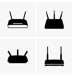 Wifi routers vector image