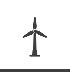 windmill icon image vector image