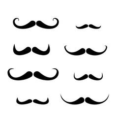 moustache vector image vector image