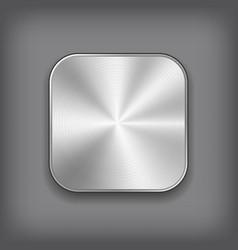 App Metal Icon vector image vector image