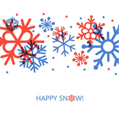 cute new year card vector image