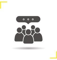 Conference icon vector