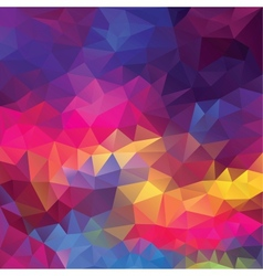 Abstract geometrical triangles background vector image