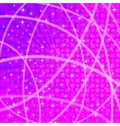 Background with Stars and Rays vector image