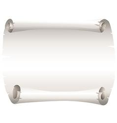 Blank piece paper vector