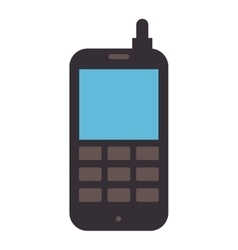 cellphone old electronic device vector image