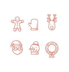 Christmas Icons Line 2 Expanded vector