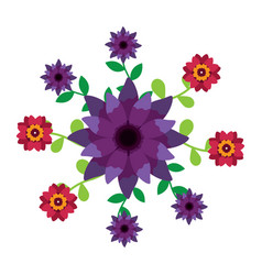 flower icon image vector image