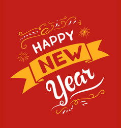 New year lettering designs vector