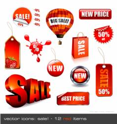 Sale signage vector