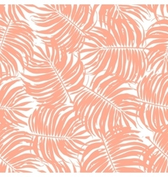 Seamless Tropical Floral Pattern Background vector