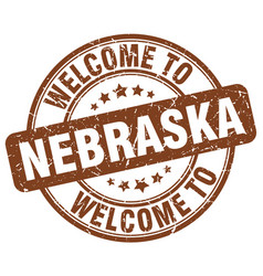 Welcome to nebraska vector