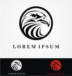 Eagle Head Logo Design vector image vector image