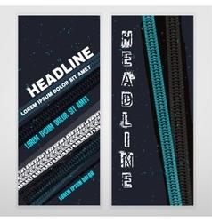 Grunge Tire banner vector image