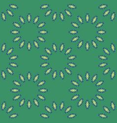 Abstract petal flowers seamless pattern sun vector