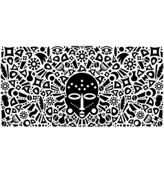 African Abstract Tribal vector