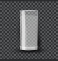 glass transparent vector image