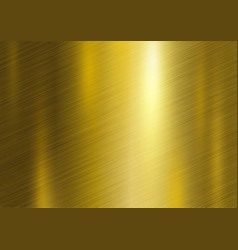 Gold metal texture background vector